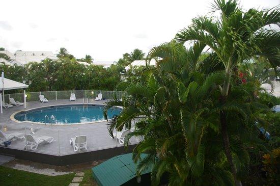 Bwa Chik Hotel & Golf: vue depuis le balcon de la chambre