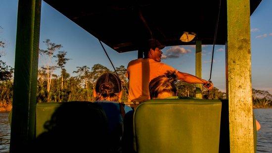 Madidi Jungle Ecolodge: Ausflug auf dem Fluss