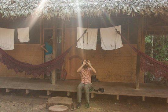 Madidi Jungle Ecolodge: unser Bungalow