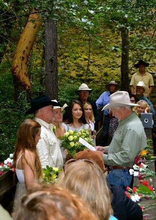 Helfrich River Outfitters, Inc.: Whisky Creek Wedding