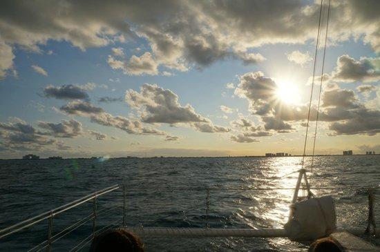 Albatros: Volta quase no horário do por do sol