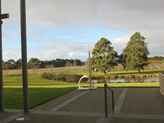 Villa Maria Auckland Winery : Looking out the window