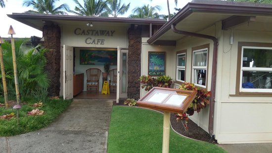 Castaway Cafe: entrance
