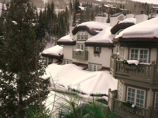 Sonnenalp: Fresh snowfall