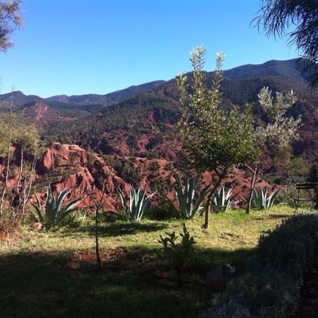 Kasbah Bab Ourika: Mountains.