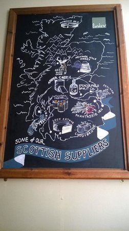 Edinburgh Larder Cafe: Locally sourced