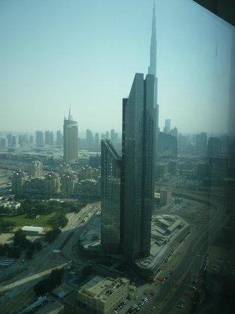 Emirates Grand Hotel: View from our room