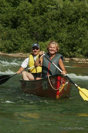 Cime Aventures: En canot sur la rivière Bonaventure