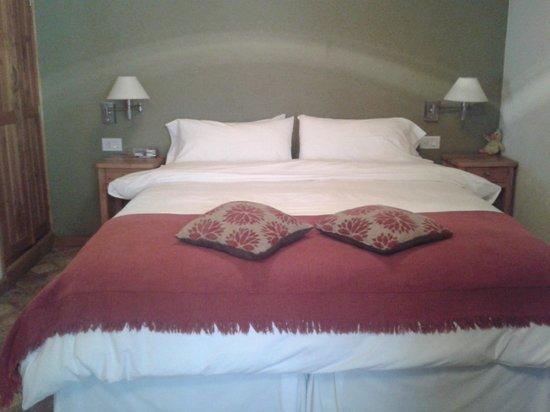 La Escampada : Muy muy comoda la cama