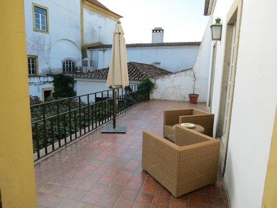 Pousada Convento de Evora : Private terrace