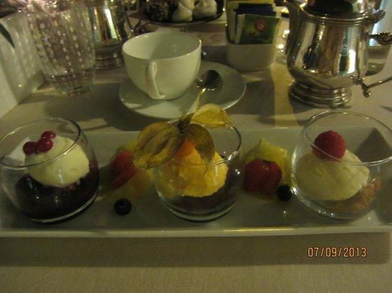 Albergo Al Sole: Ужин,  десерт