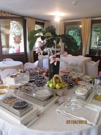 Albergo Al Sole: Завтрак