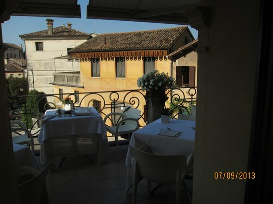 Albergo Al Sole: Вид с террасы