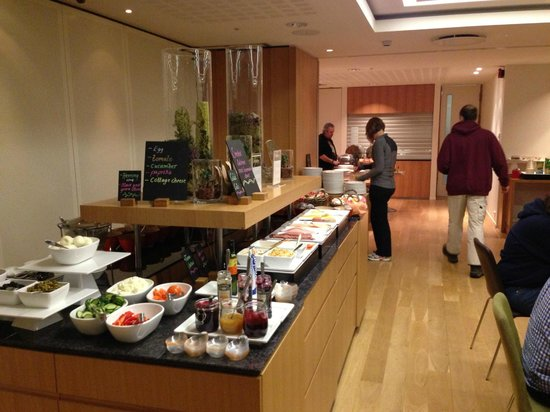 Icelandair Hotel Reykjavik Natura: Breakfast Buffet
