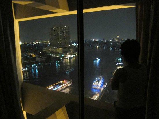 Royal Orchid Sheraton Hotel & Towers: panorama dalla camera