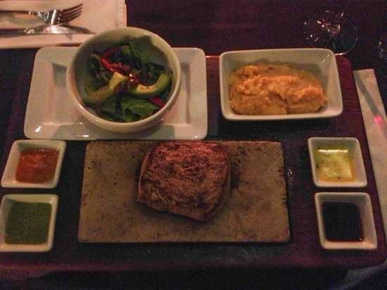 Uchu Peruvian Steakhouse: Alpaka-Steak