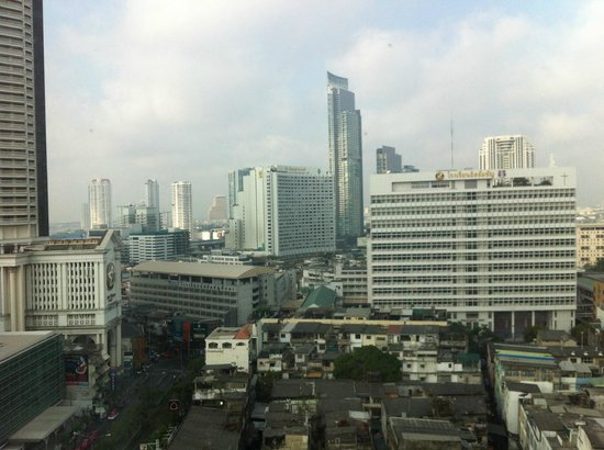 Novotel Bangkok Fenix Silom : vista dalla finestra