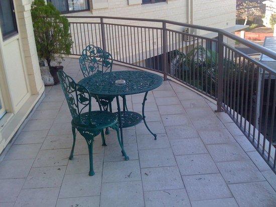 Normandie Motel: Queen w balcony