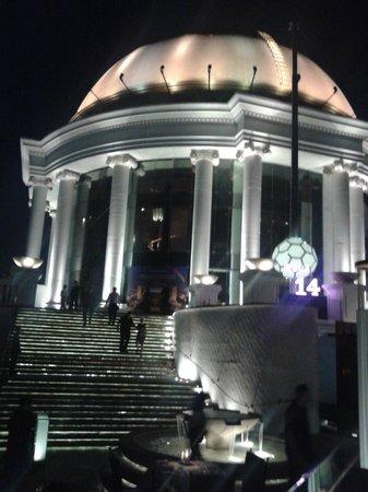 Novotel Bangkok Fenix Silom: skybar