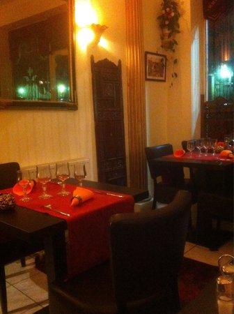Kaboul: La salle du restaurant
