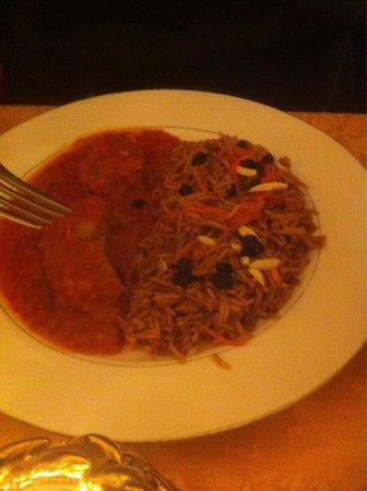 Kabouly : plat à base d'agneau et de tomate.