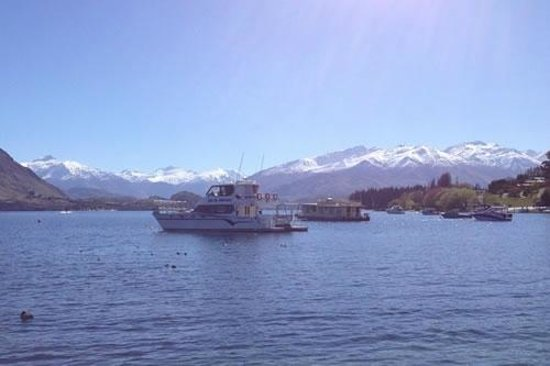 Lakeview Motel: The view from the Wanaka Waterfront