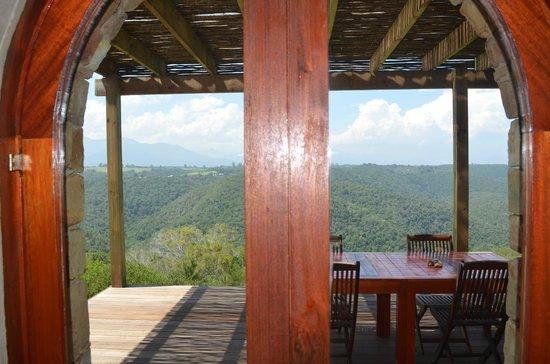 Tamodi Lodge: View from cellar