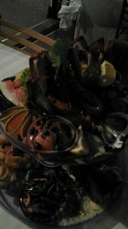 Lugarno Seafood: Seafood Platter Top - $140 for platter for 2