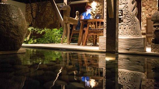 Villa Bukit Segara: relaxing