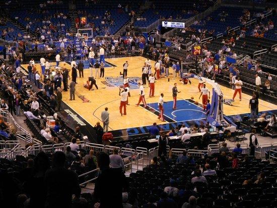 Amway Center: Orlando Magic x Milwaukee Bucks