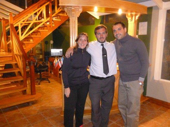 Hosteria Patagonia Jarke: CON EL CAPO DE DIEGO