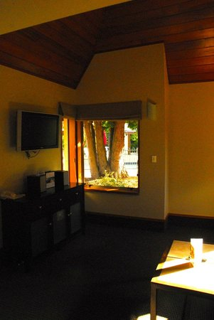 Distinction Te Anau Hotel and Villas: Villa living area