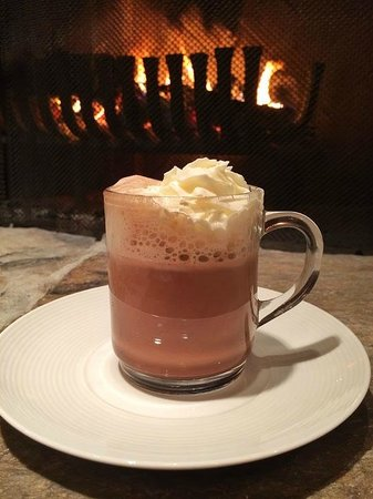 Image result for hot chocolate ski lodge