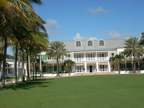 Grand Lucayan, Bahamas : Manor house for registration and check-in