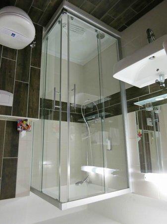 Hotel Stadt Hamburg : Badezimmer