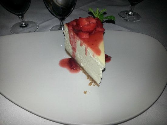Vic & Anthony's Steakhouse: Cheescake