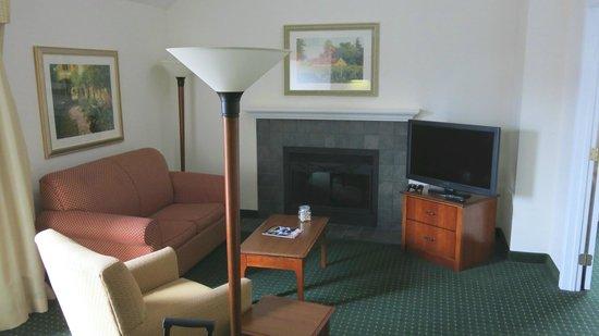 Residence Inn Minneapolis Eden Prairie: Living Room Area
