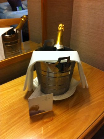 Pomme d'Or Hotel: Celebration Surprise