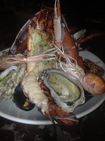 Cafe Royal: Seafood platter