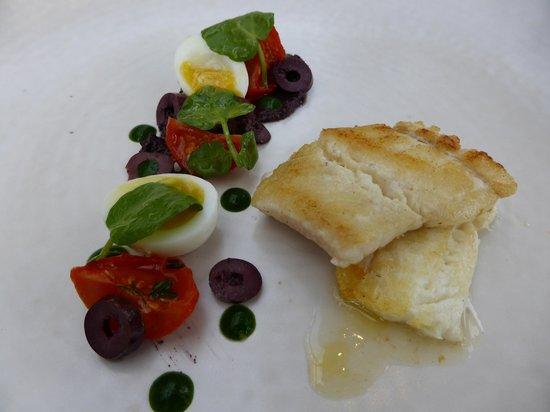 Forelles: Brill - fish starter