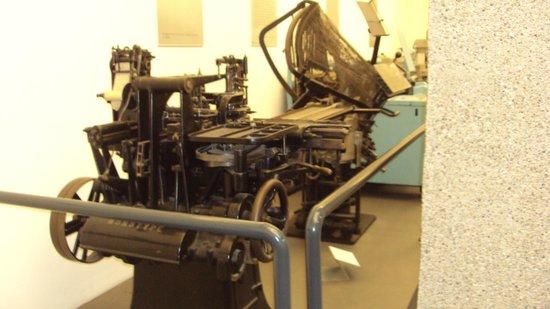 Gutenberg-Museum: Prensas antigas