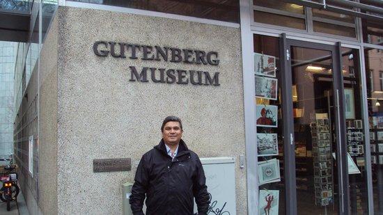 Gutenberg Museum : Entrada do Museu