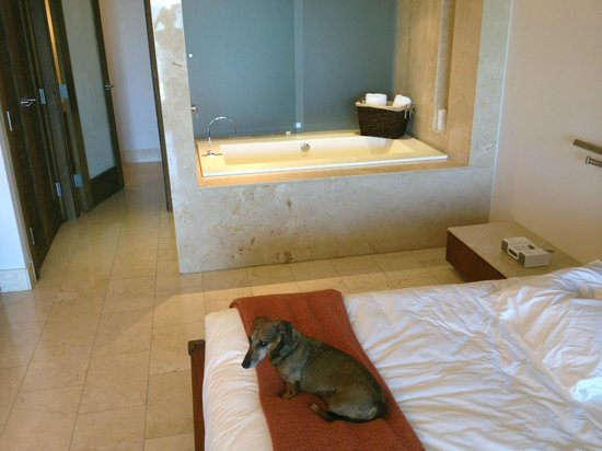 Costa d'Este Beach Resort & Spa: Wonderful tub!