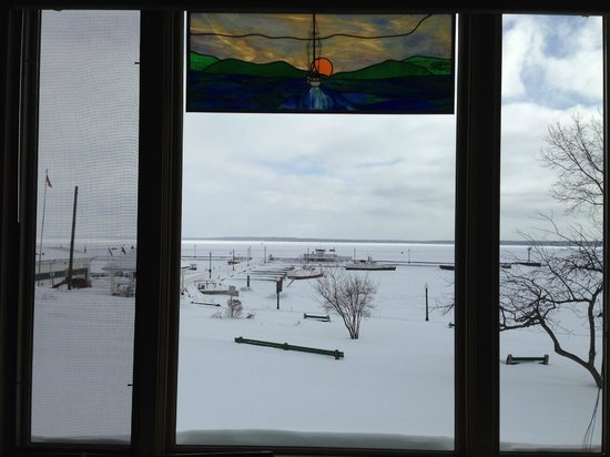 The Bayfield Inn : view from the restaurant