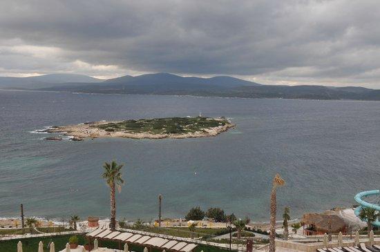 Euphoria Aegean Resort & Spa: oda manzara