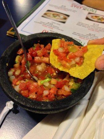 Puerto Vallarta: More like salad instead of salsa.