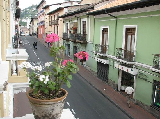 Hostal Quito Cultural : Lovely location