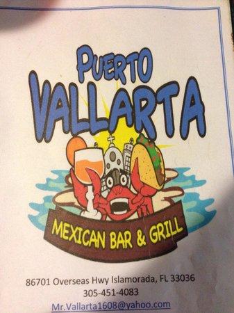 Puerto Vallarta: Note the address.