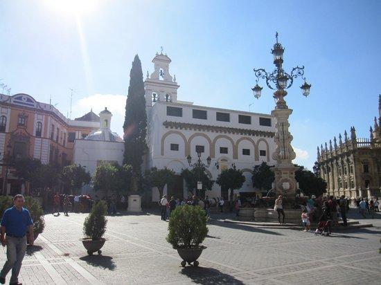 Plaza del Triunfo : Vista de la plaza.