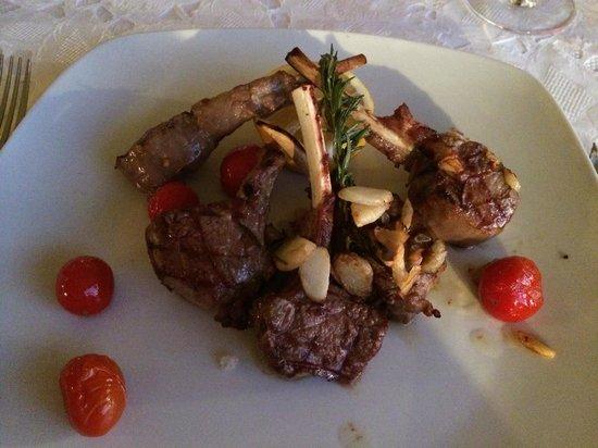 Restaurante Montsemar : lam kotlet
